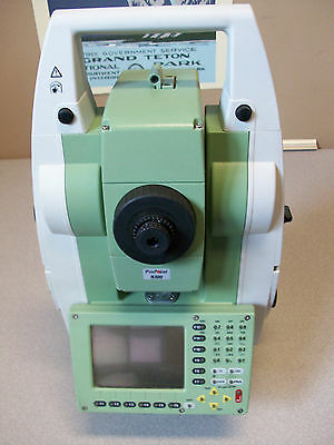 Leica TCRP1203 TOTAL STATION WITH HARD CASE - Excellent Condition!