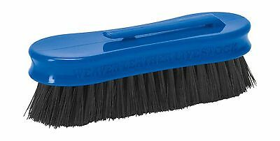 Weaver Leather Small Pig Face Brush Blue