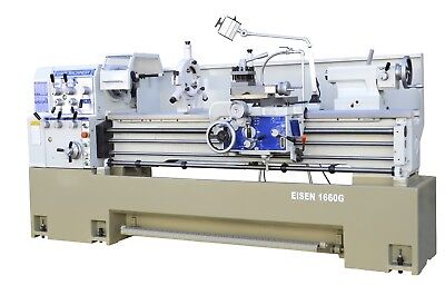 "EISEN 1660G 16""x60"" Precision Engine Lathe (2 1/4"" spindle hole, made in Taiwan)"