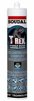T-Rex Crystal Clear Sealant and Adhesive 290ml - Box of 12