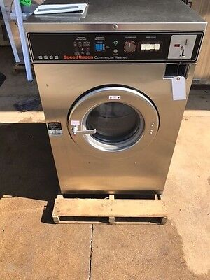 Speed Queen 40lb Coin Operated Commercial Washer Huebsch Wascomat Dexter Laundry