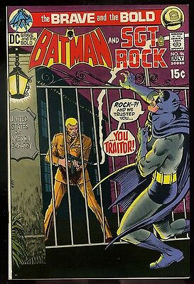 Brave and the Bold #96 NM  Neal Adams Cover