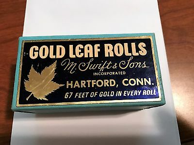 SWIFT - 1/2 XXD Gold Leaf Rolls (2) - 67 Feet Each