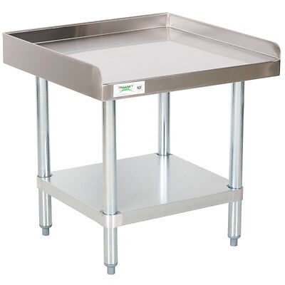 "NEW Stainless Steel Commercial Kitchen Work Prep Equipment Table Stand 24"" x 24"""