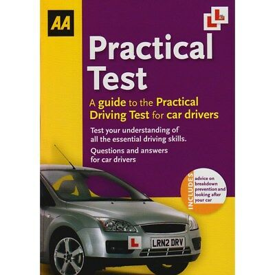 AA Driving Test Practical Guide Paperback for Learner Drivers A4NG#