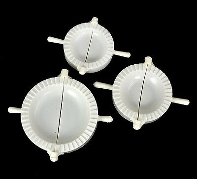 3Pcs Dumpling Mold Dough Press Mould Maker Pierogi Pelmeni Turnover