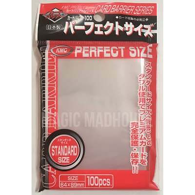 KMC - Standard Deck Protector Sleeves 89mm x 64mm Inner - PERFECT SIZE (100)