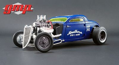 GMP 1934 Blown Altered Nitro Coupe - Southern Speed & Marine 1/18
