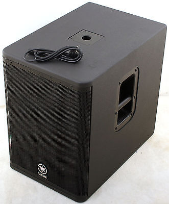 yamaha dxs12 b ware lautsprecher aktiv box subwoofer bass. Black Bedroom Furniture Sets. Home Design Ideas
