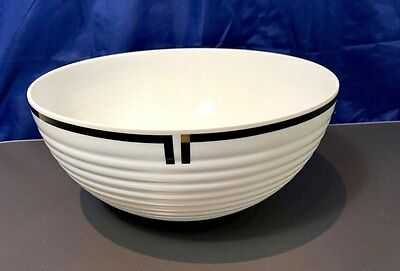 Rosenthal Cupola Nera Salad bowl - 13130 - Schussel 3 gross - NEW IN BOX -