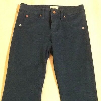 HUDSON girls' blue skinny jeans pants – Size 14 - EUC PreOwned #807