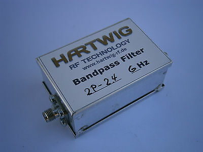 Bandpass Filter for 144 MHz, 430 MHz or 2.4 GHz, transverter,Low noise preamp