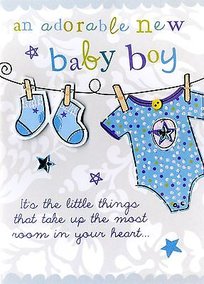 New baby boy greeting card second nature just to say cards 299 new baby boy greeting card second nature just to say cards m4hsunfo