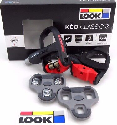 Look Pedales Keo Classic 3 Limited Edtion Negro Rojo