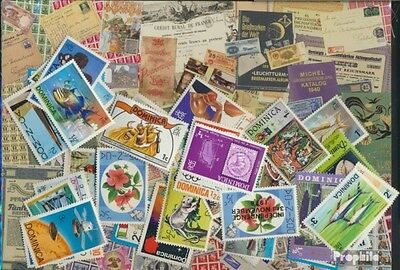 dominica 50 different stamps