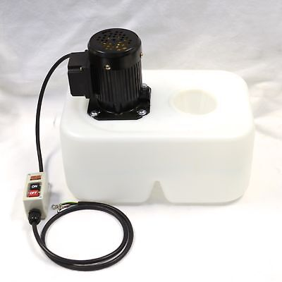 1/8 HP 3-Phase Coolant Pump with Tank and Nozzle Assembly, 220V, SP-OP-13L-W