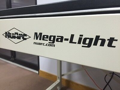 NuArc Mega-Light UV Fluorescent Screen Exposure System with stand