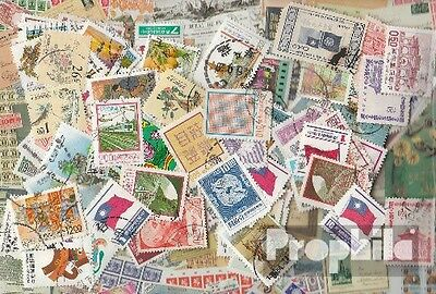 China-taiwan 100 different stamps