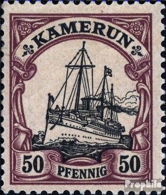 Cameroon (German. Colony) 14 with hinge 1900 Ship Imperial Yacht Hohenzollern