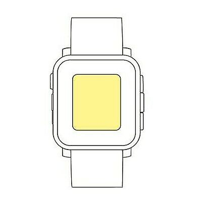 Martin Fields Overlay Plus Screen Protector (Pebble Time)