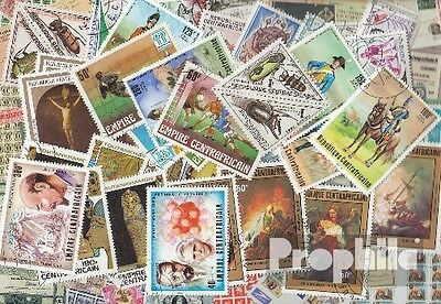 Central African republic. 50 different stamps
