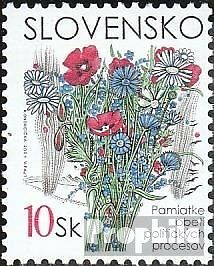 Slovakia 407 mint never hinged mnh 2001 Victims political Processes