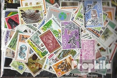Rwanda 400 different stamps