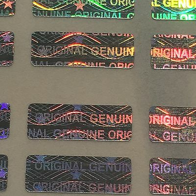150 Hologram Labels Warranty Seals Stickers Small 12x4 mm