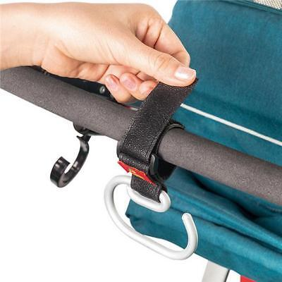 Buggy Pram PushChair Clip Aluminium Stroller Pushchair Bag Hook Holder NEW S