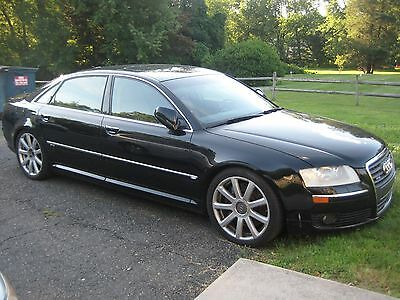 2005 Audi A8 W12 Audi A8 A8L W12, MSRP $133000, CLEAN TITLE, Executive Package, Rear Refrigerator