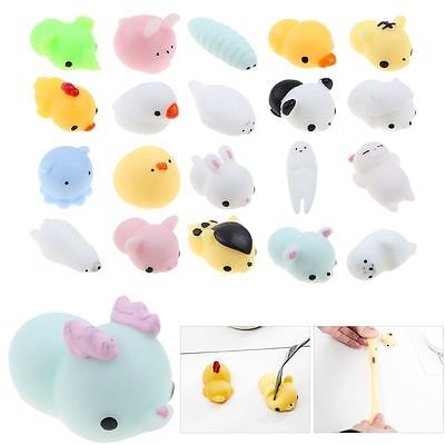 Anti Stress Ball Adhd Reliever Autism Soft Squishy Animal Squeeze Spielzeug