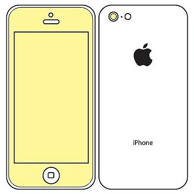 Martin Fields Overlay Plus Screen Protector (Apple iPhone 5c) - Includes Came...