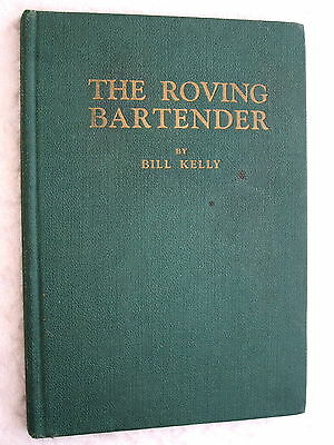 1946 THE ROVING BARTENDER Rare Vintage COCKTAIL BOOK First Edition 1ST Printing