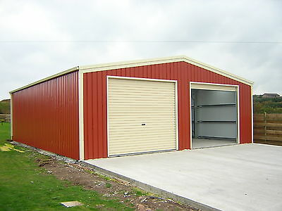 Steel Double Garage by BSB