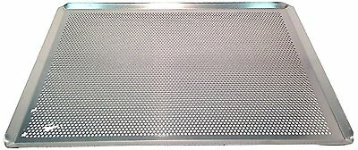 "Sasa Demarle HG330460 Aluminum Perforated Sheet Pan, 18"" Length, 13"" Width, 1"""