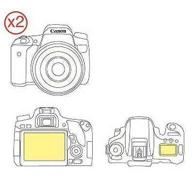 Martin Fields Overlay Plus Screen Protector (Canon EOS 760D) Twin Pack - Incl...