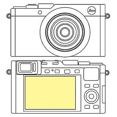 Martin Fields Overlay Plus Screen Protector (Leica D-Lux Typ 109)