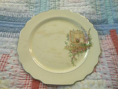 Vintage Plate Lido W S George Canarytone Breakfast Nook China