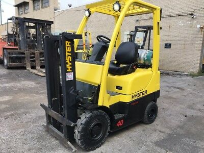 2008 Hyster  Pneumatic Forklift 4000 Pound Capacity