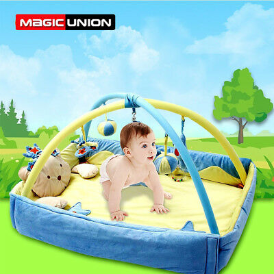 Baby Gym Playmat Newborn Toys Infant Carpet Crawling Pad Indoor Actitivity