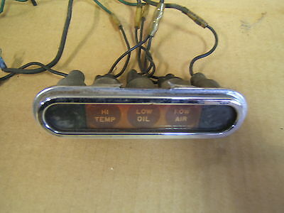 Rat Rod Indicator lights turn signal lights idiot lights old school