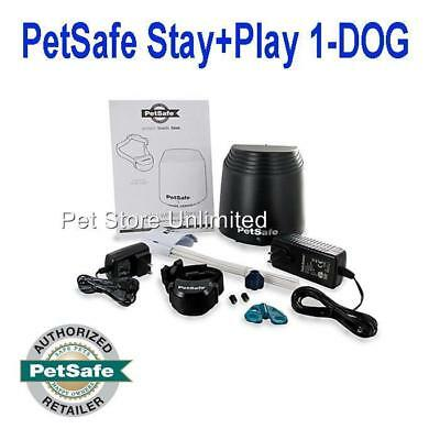PetSafe Stay and Play 1-DOG Wireless Fence PIF00-12917 Rechargeable 3/4 Acre