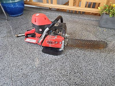 """Barely Used ICS 613GC Concrete Cut-Off Chainsaw w/ 14"""" Bar"""