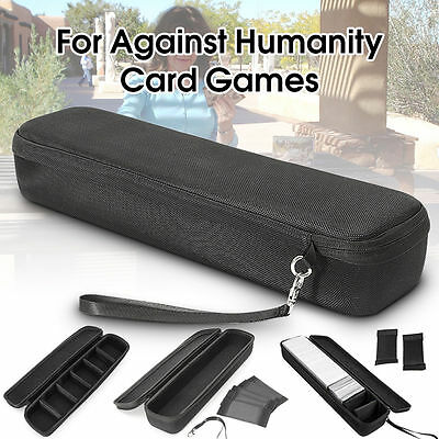 Travel Carry Storage Box Hard Case Cover for Cards Against Humanity Card Games