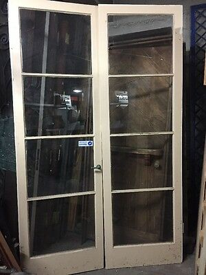 French Doors With Glass 1930's