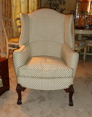 Antique Wingback Chair Wing Back