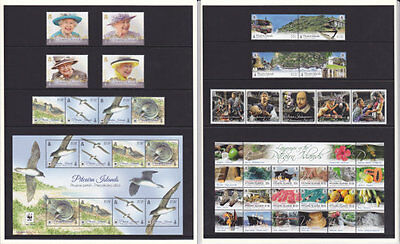 Pitcairn Islands 2016 Year Complete Commemorative Issues Mnh