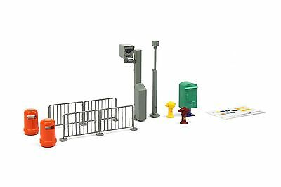 TINY Hong Kong City Ax8 1/4 Road Accessory Set Color Painted Model Dioramas