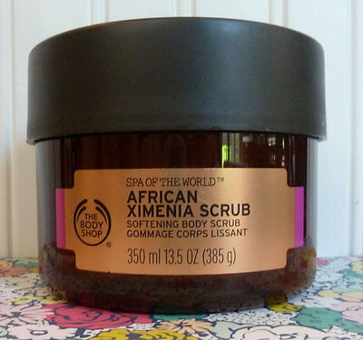 The Body Shop Spa Of The World African Ximenia Softening Body Scrub 13.5 Oz
