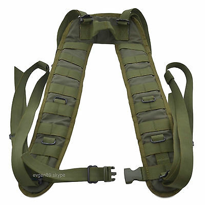 SSO / SPOSN Tactical Shoulder Straps Harness Smersh Olive Russian Original Army